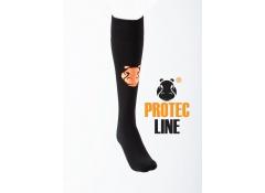 Hockeysokken Protecline zwart